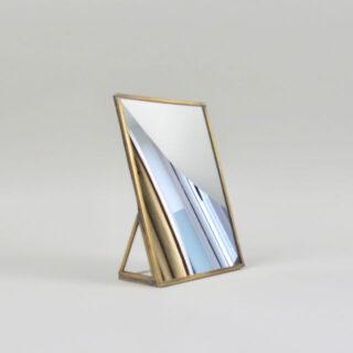 Kiko Standing Brass Mirror - Small