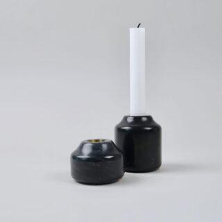 Aya Marble Candlestick