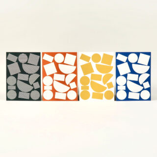 Pack of 8 Postcards - Blocks