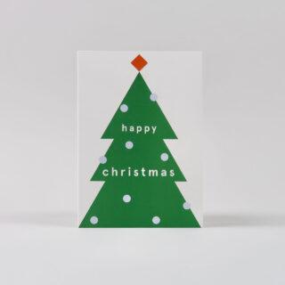 Christmas Tree Christmas Cards - Pack of 6