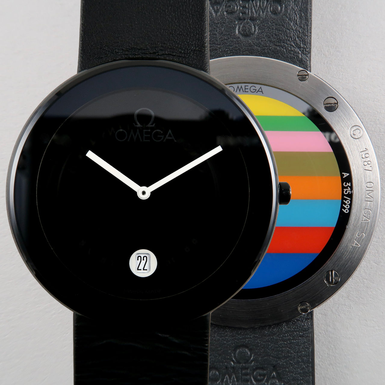 Omega Ref. 196.0440 Kenneth Noland Art Watch