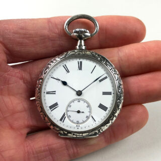 Omega cal. 17''' pocket watch, circa 1898