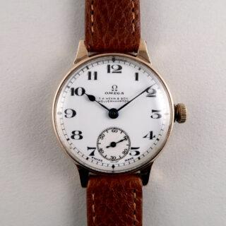 Omega Cal. 26.5 retailed by T. A. Henn & Son hallmarked 1928