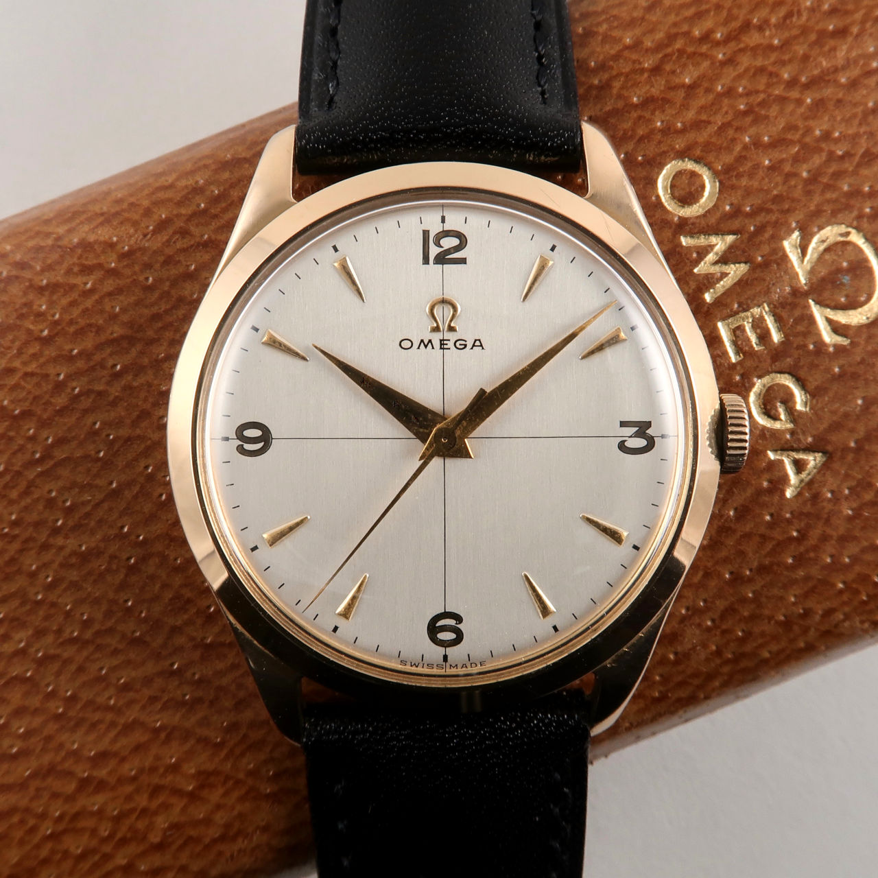 Omega Cal. 283 hallmarked 1952 18ct gold