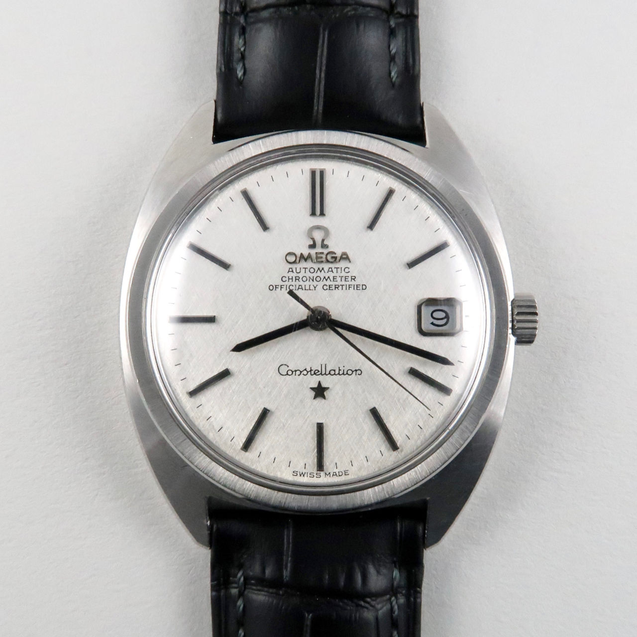 """Omega Constellation """"C"""" Ref. 168.017 steel vintage wristwatch, circa 1971"""