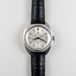 """Omega Constellation """"C"""" Ref. 568.001 steel vintage wristwatch, circa 1969"""