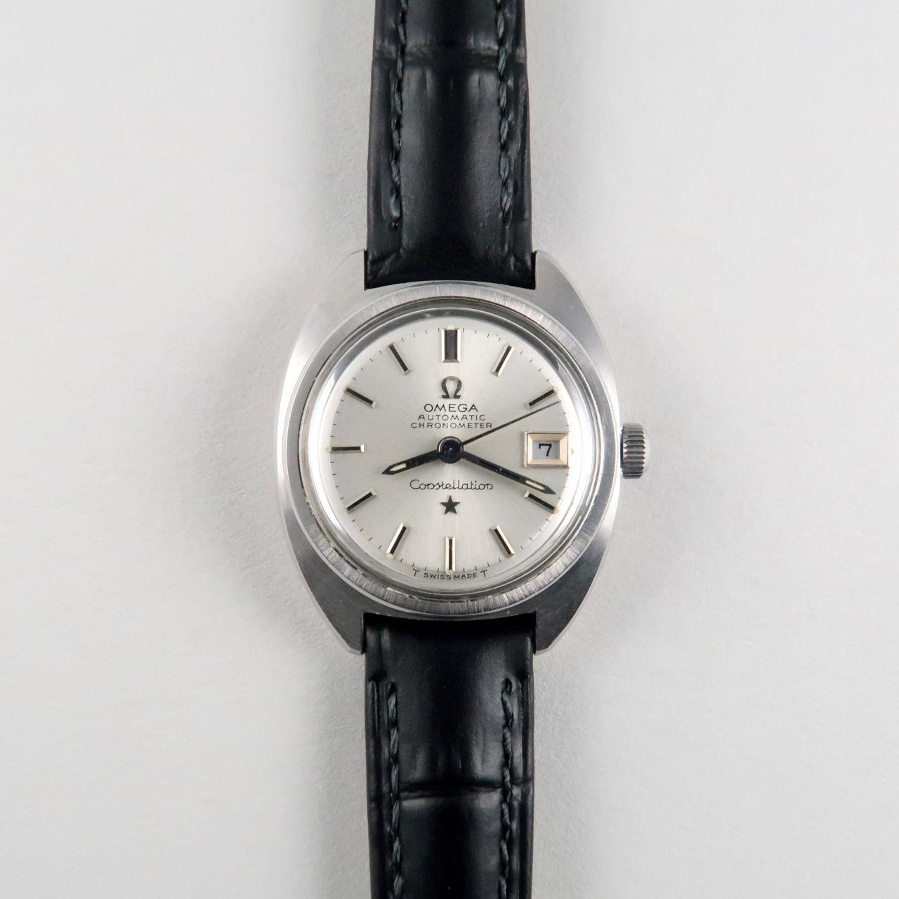 "Omega Constellation ""C"" Ref. 568.001 steel vintage wristwatch, circa 1969"