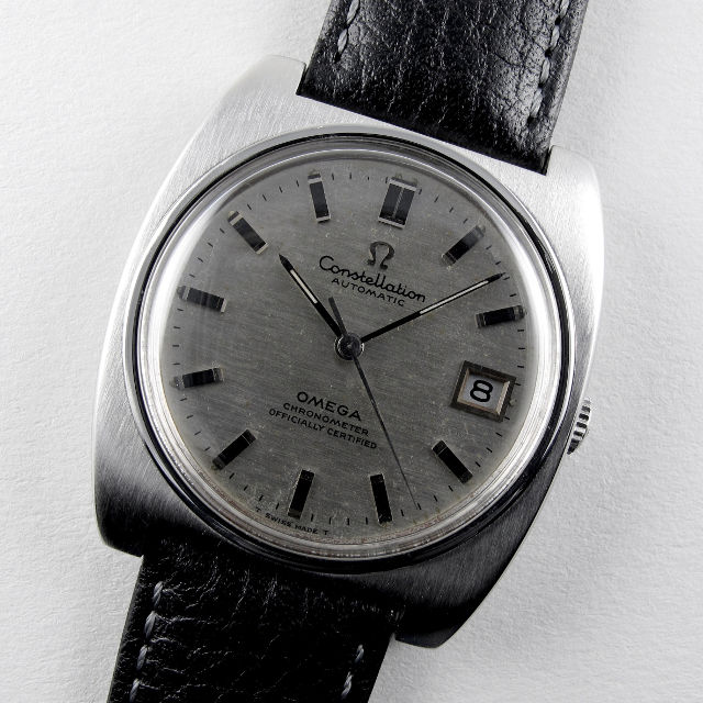 Omega Constellation Chronometer Ref. 168.042 steel vintage wristwatch, circa 1969