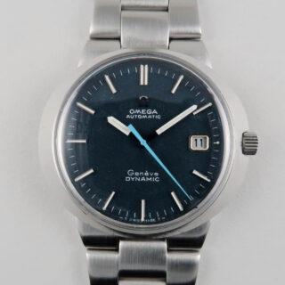 Omega Dynamic Ref. 166.039 steel vintage wristwatch, circa 1969