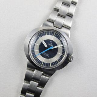 Omega Dynamic Ref. 535.015 lady's steel vintage wristwatch, circa 1969