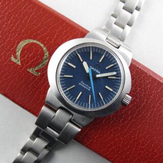 Omega Genève Dynamic Ref. 535.015 lady's steel vintage wristwatch, circa 1969