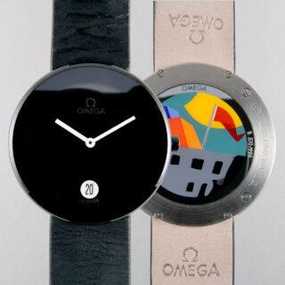 Omega Emilio Tadini Art Watch 370/999 made 1989