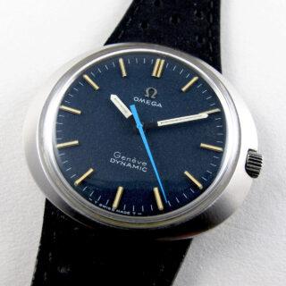 Omega Genève Dynamic Ref. 135.033 steel vintage wristwatch, circa 1968