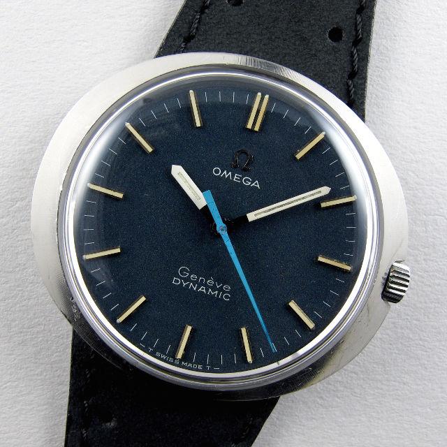 Omega Genève Dynamic Ref. 135.033 steel vintage wristwatch, circa 1969