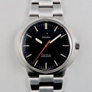 Omega Genève Dynamic Ref. 135.033 vintage wristwatch, circa 1968