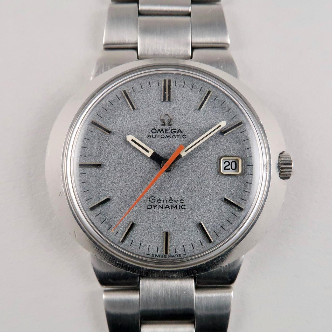 Omega Genève Dynamic Ref. 166.039 steel vintage wristwatch, circa 1969