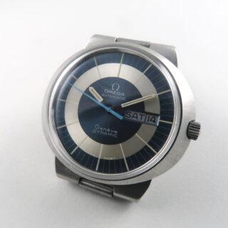 Omega Genève Dynamic Ref. 166.079 steel vintage wristwatch, circa 1970