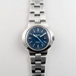 Omega Genève Dynamic Ref. 566.015 lady's steel vintage wristwatch, circa 1969