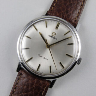 Omega Genève Ref. 131.019 steel vintage wristwatch, circa 1968