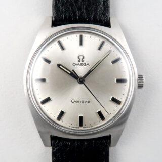 Omega Genève Ref. 135.041 steel vintage wristwatch, circa 1969