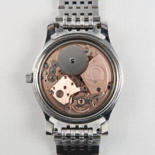 Omega Genève Ref. 136.0102 steel vintage wristwatch sold in 1976