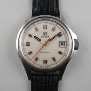 Omega Genève Ref. 136.015 steel vintage wristwatch, circa 1969