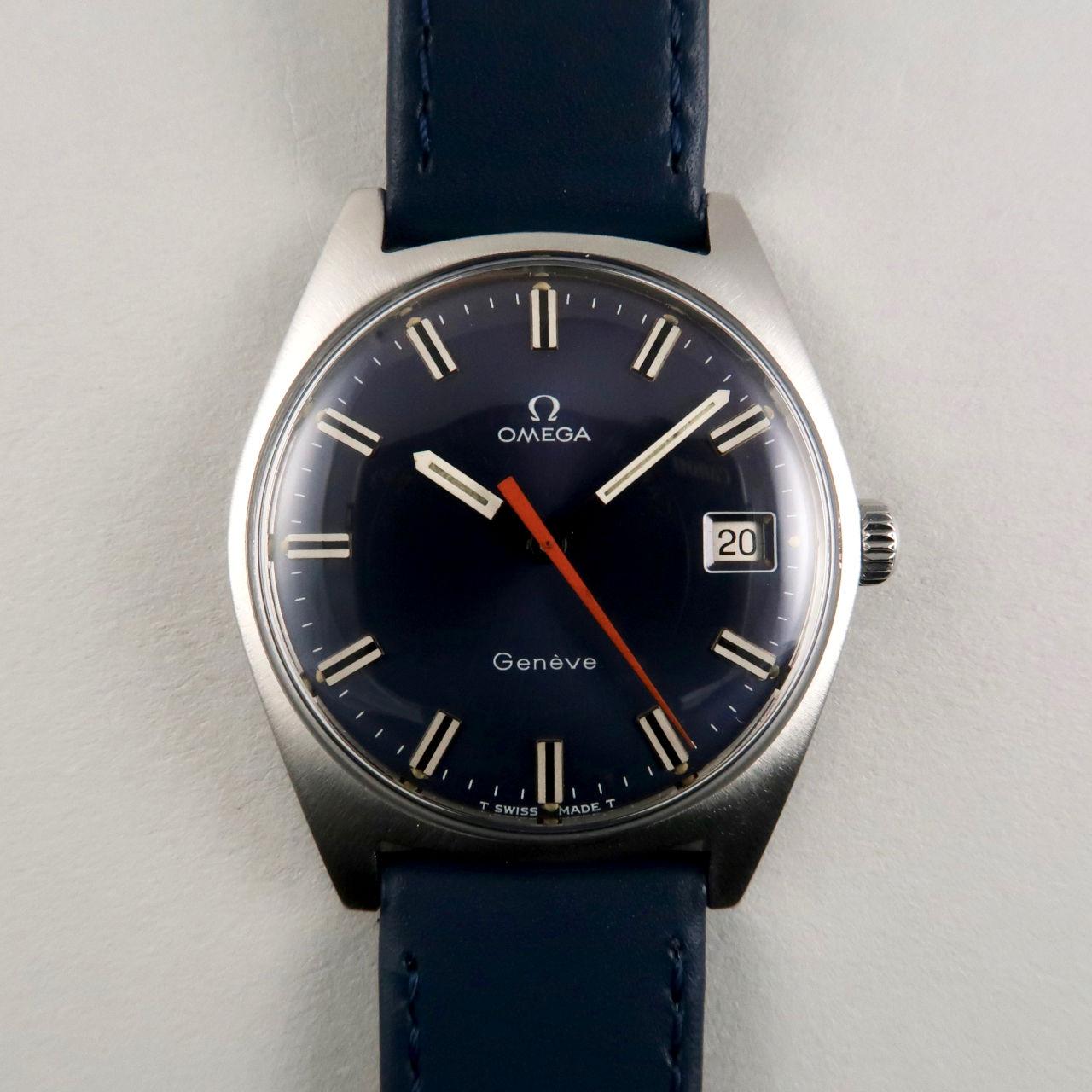 Omega Genève Ref. 136.041 steel vintage wristwatch, circa 1968