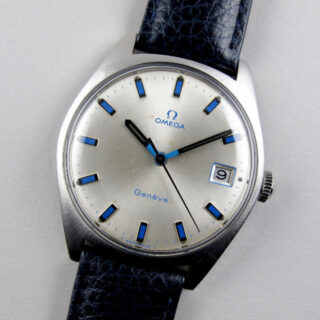Omega Genève Ref. 136.041 steel vintage wristwatch, circa 1969