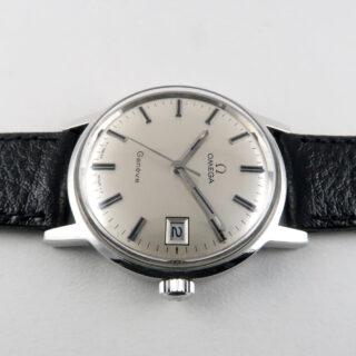 Omega Genève Ref. 136.070 steel vintage wristwatch, circa 1970
