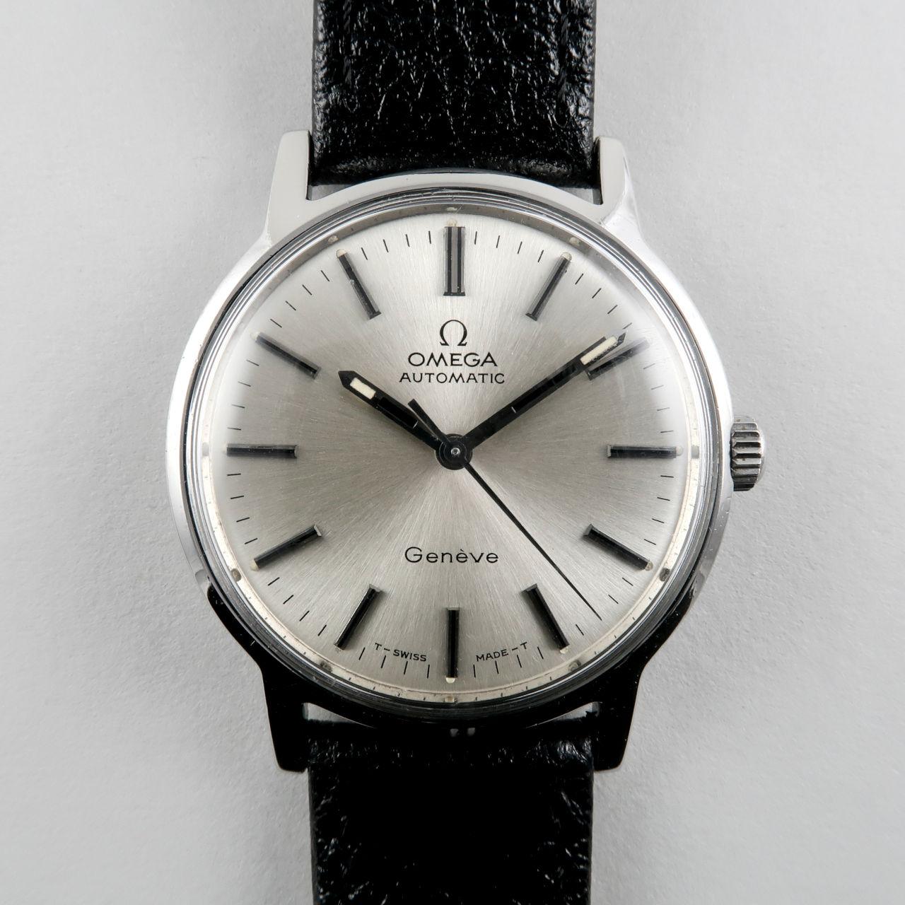 Omega Genève Ref. 165.070 circa 1971 | steel automatic vintage wristwatch