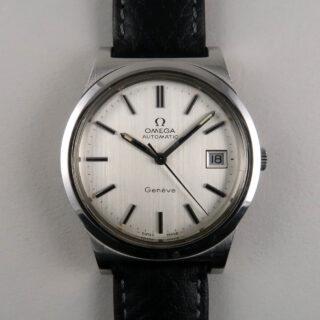 Omega Genève Ref.166.0168 steel vintage wristwatch, circa 1973