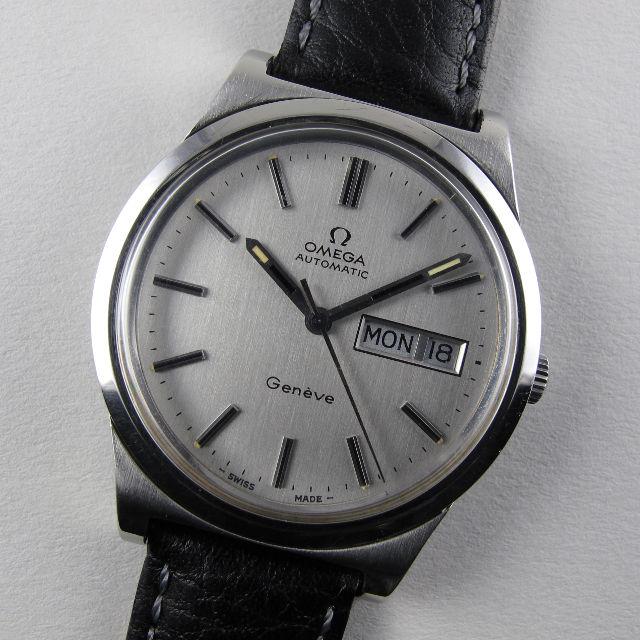 Omega Genève Ref. 166.0169 steel vintage wristwatch, circa 1973