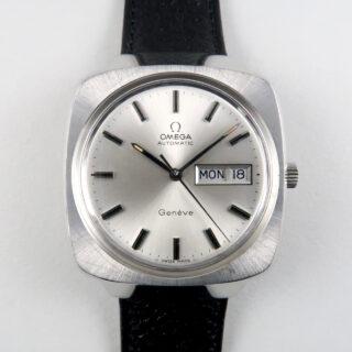 Omega Genève Ref. 166.0170 steel vintage wristwatch, circa 1974
