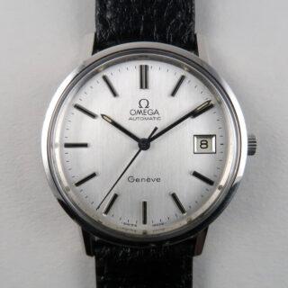 Omega Genève Ref. 166.0202 steel vintage wristwatch, circa 1978