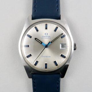 Omega Genève Ref. 166.041 stainless steel vintage wristwatch, circa 1969