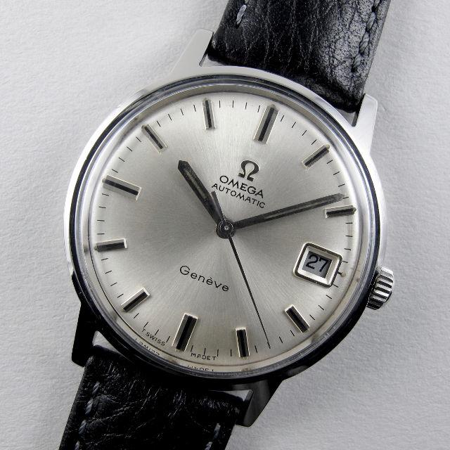Omega Genève Ref. 166.070 steel vintage wristwatch, circa 1969