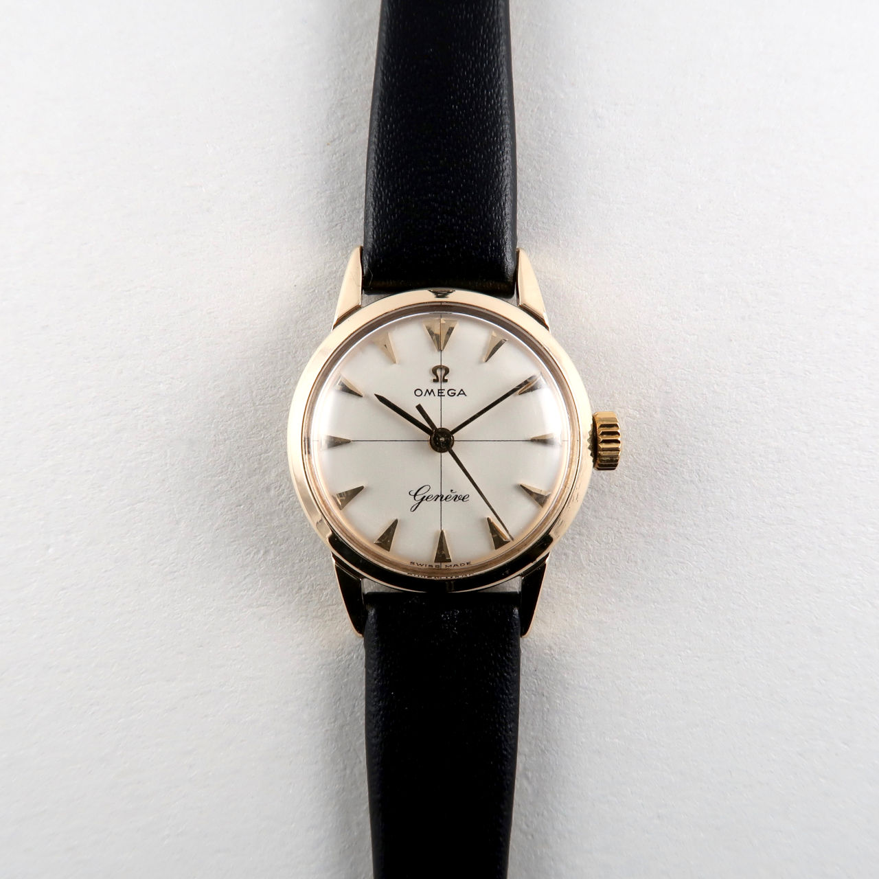 Omega Genève Ref. 531.5001 hallmarked 1962 | 9ct gold lady's vintage wristwatch