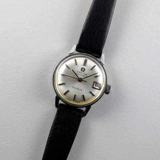 Omega Genève Ref. 566.002 steel vintage wristwatch, circa 1969