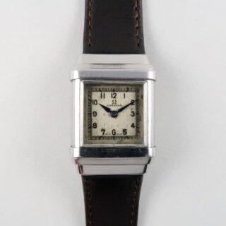 Omega Marine Ref. CK 679 steel vintage wristwatch, circa 1935