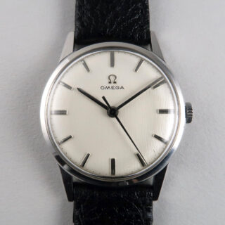 Omega Ref. 131.001 -63 steel vintage wristwatch, circa 1962