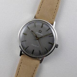 Omega Genève Ref. 131.018 steel vintage wristwatch, circa 1969