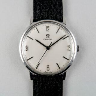 Omega Ref. 131.019 circa 1965   steel hand wound vintage wristwatch