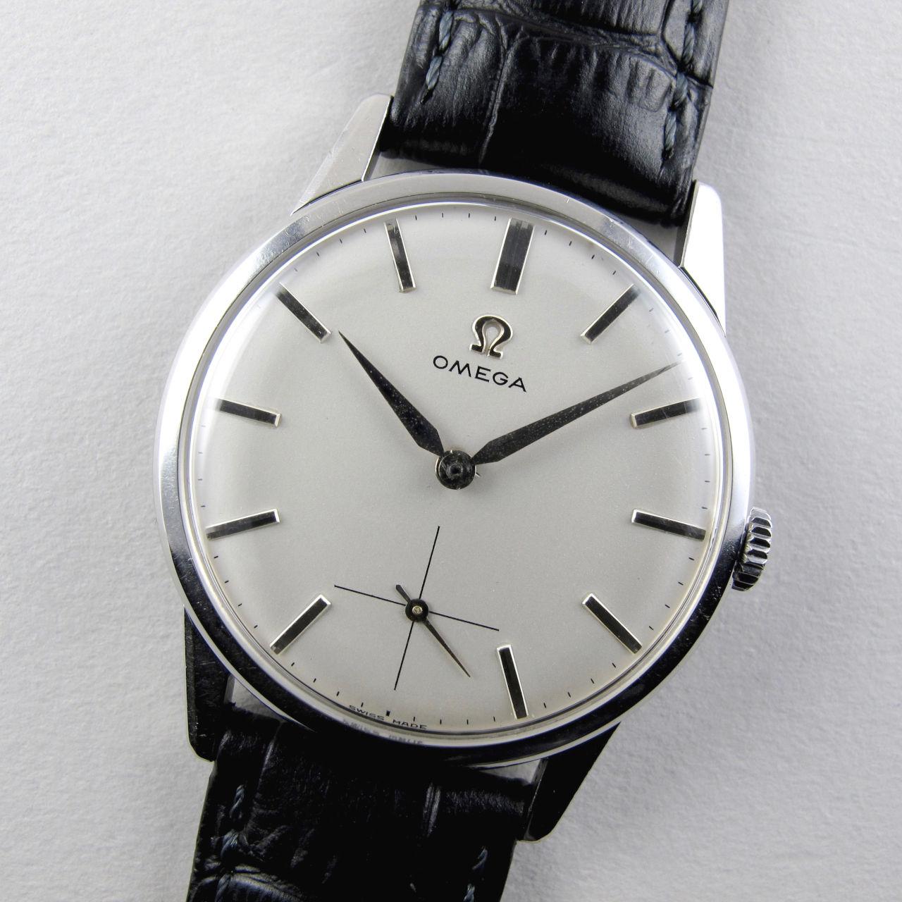 Omega Ref. 14713 -9 steel vintage wristwatch, circa 1961