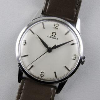 Omega Ref. 14714 -61 steel vintage wristwatch, circa 1961