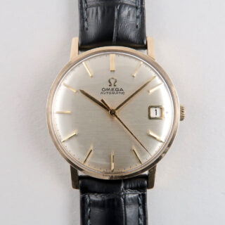 Omega Ref. 162.002 hallmarked 1964 | 9ct gold automatic vintage wristwatch