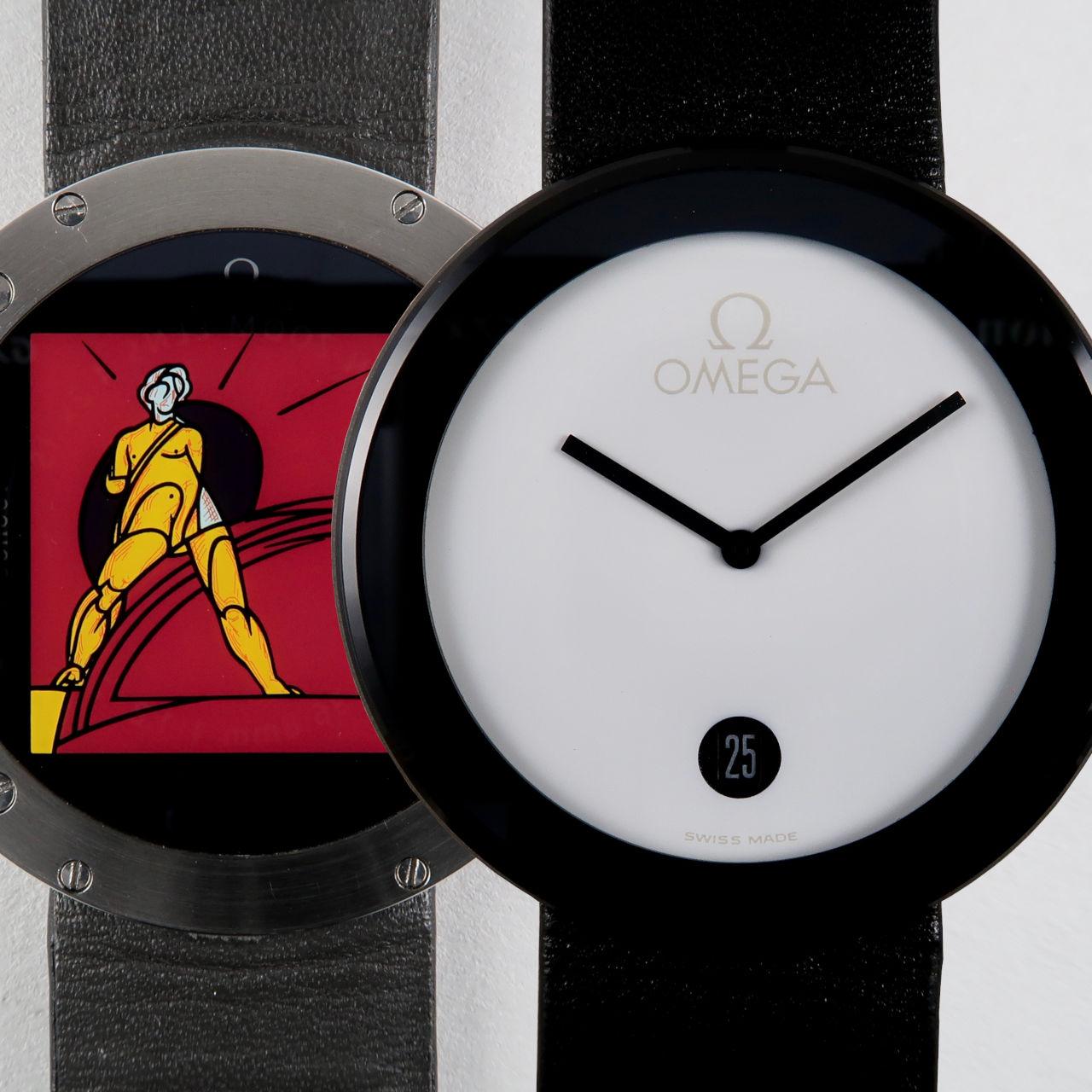 Omega Ref. 196.0440 Art Watch Valerio Adami 046/999 circa 1987