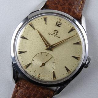 Omega Ref. 2639 /11 steel vintage wristwatch, circa 1952