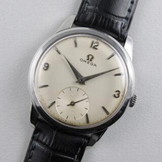 Omega Ref. 2903 -16 steel vintage wristwatch, circa 1959