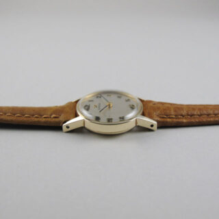 Omega Ref. 511.5002 gold lady's vintage wristwatch, sold in 1967