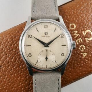 Omega Ref. 720 circa 1950 | steel hand wound vintage wristwatch